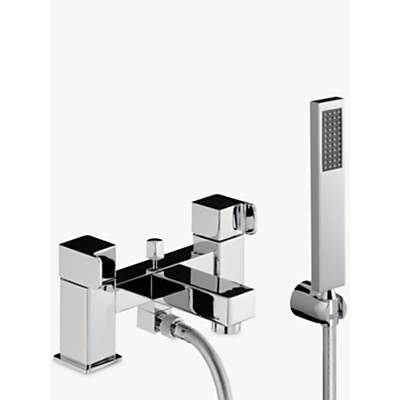 Abode Rapport Deck Mounted Bath/Shower Mixer with Shower Handset