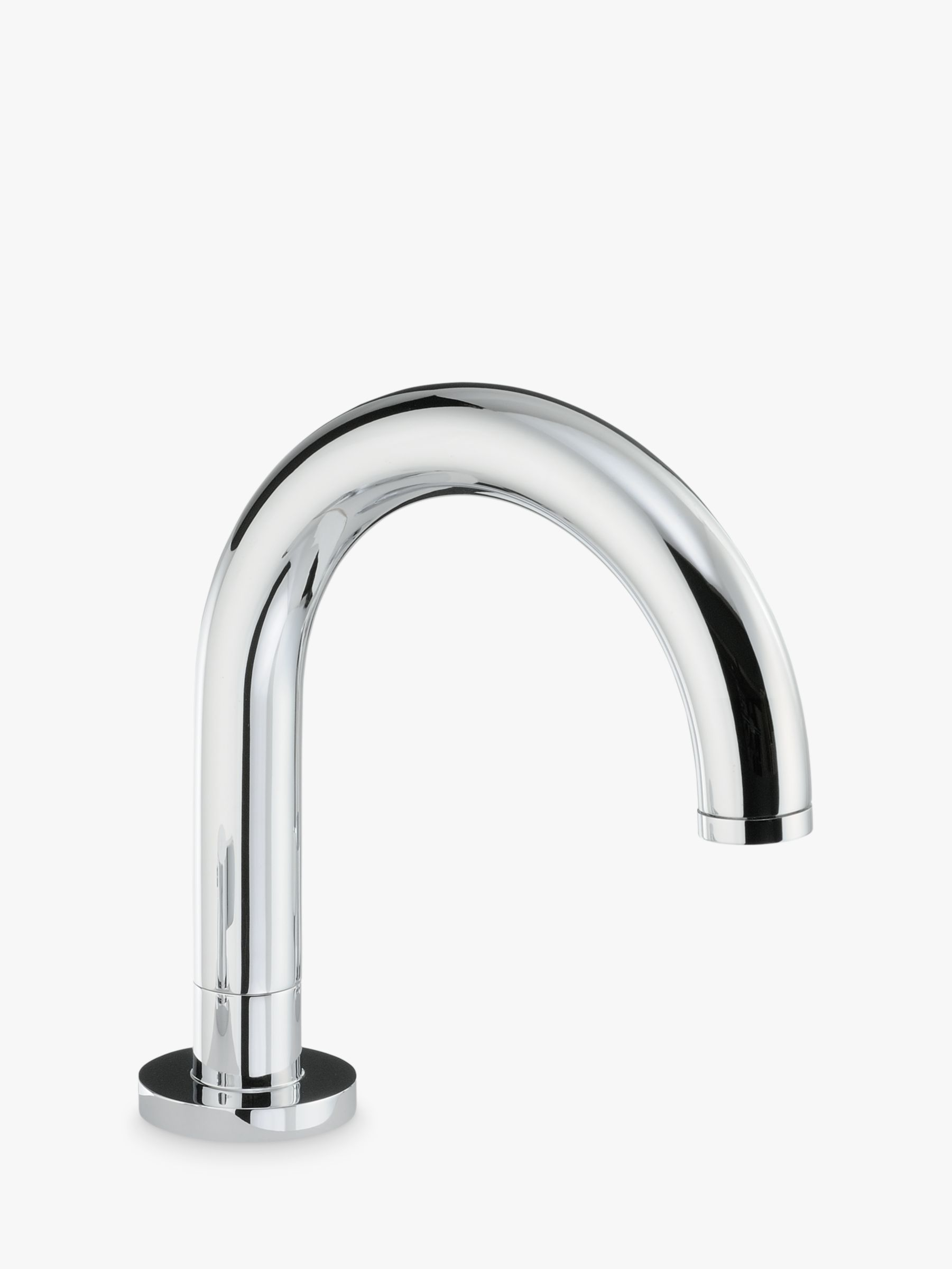 Abode Deck Mounted Bathroom Spout Tap, Round Base