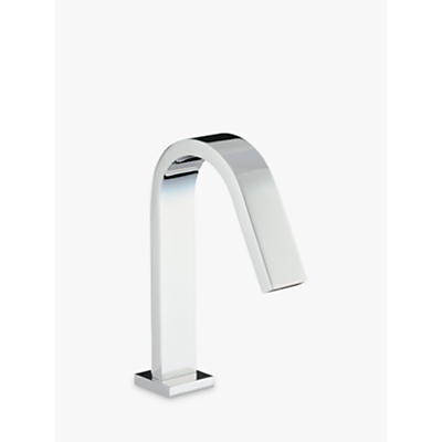 Image of Abode Deck Mounted Bathroom Spout Tap, Square Base
