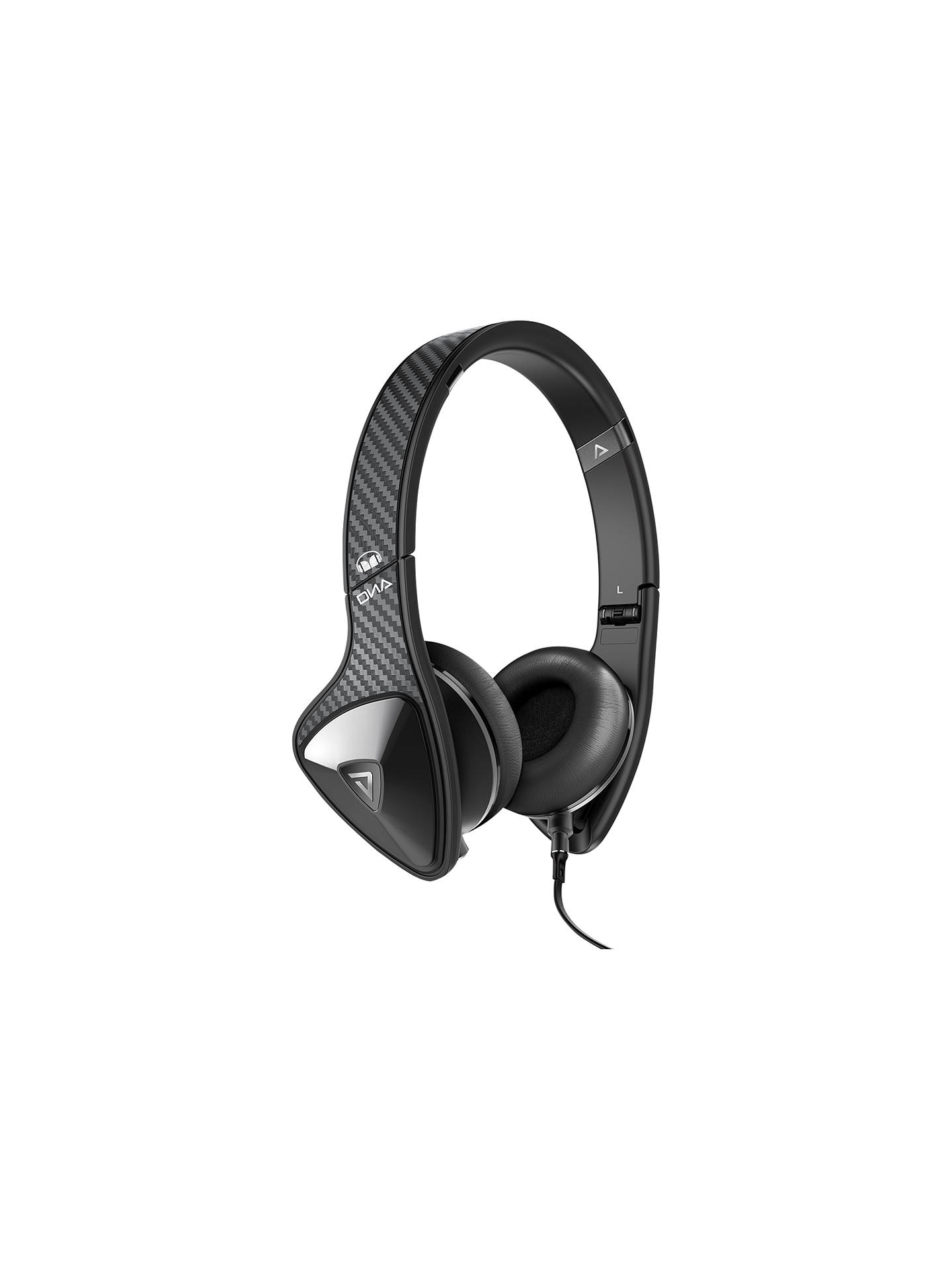 Buy Monster DNA On-Ear Headphones with ControlTalk, Carbon Fibre Online at johnlewis.com
