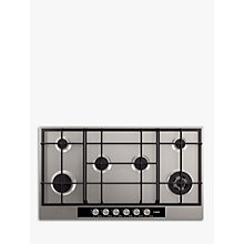 Buy AEG HG956440SM Gas Hob, Stainless Steel Online at johnlewis.com