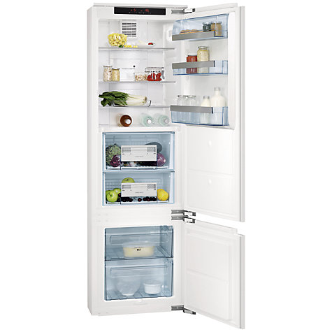 Buy AEG SCZ71800F0 Integrated Fridge Freezer, A+ Energy Rating, 56cm Wide Online at johnlewis.com