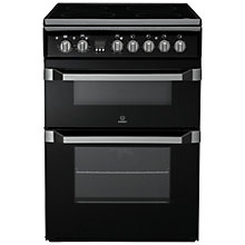 Buy Indesit ID60C2KS Electric Cooker, Black Online at johnlewis.com