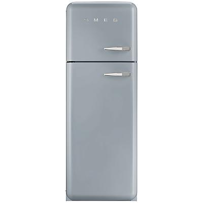 Smeg FAB30LF Fridge Freezer, A++ Energy Rating, Left-Hand Hinge, 60cm Wide
