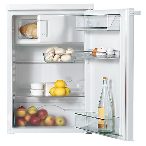 Buy Miele K12012S-2 Fridge with Freezer Compartment, A+ Energy Rating, 55cm Wide, White Online at johnlewis.com