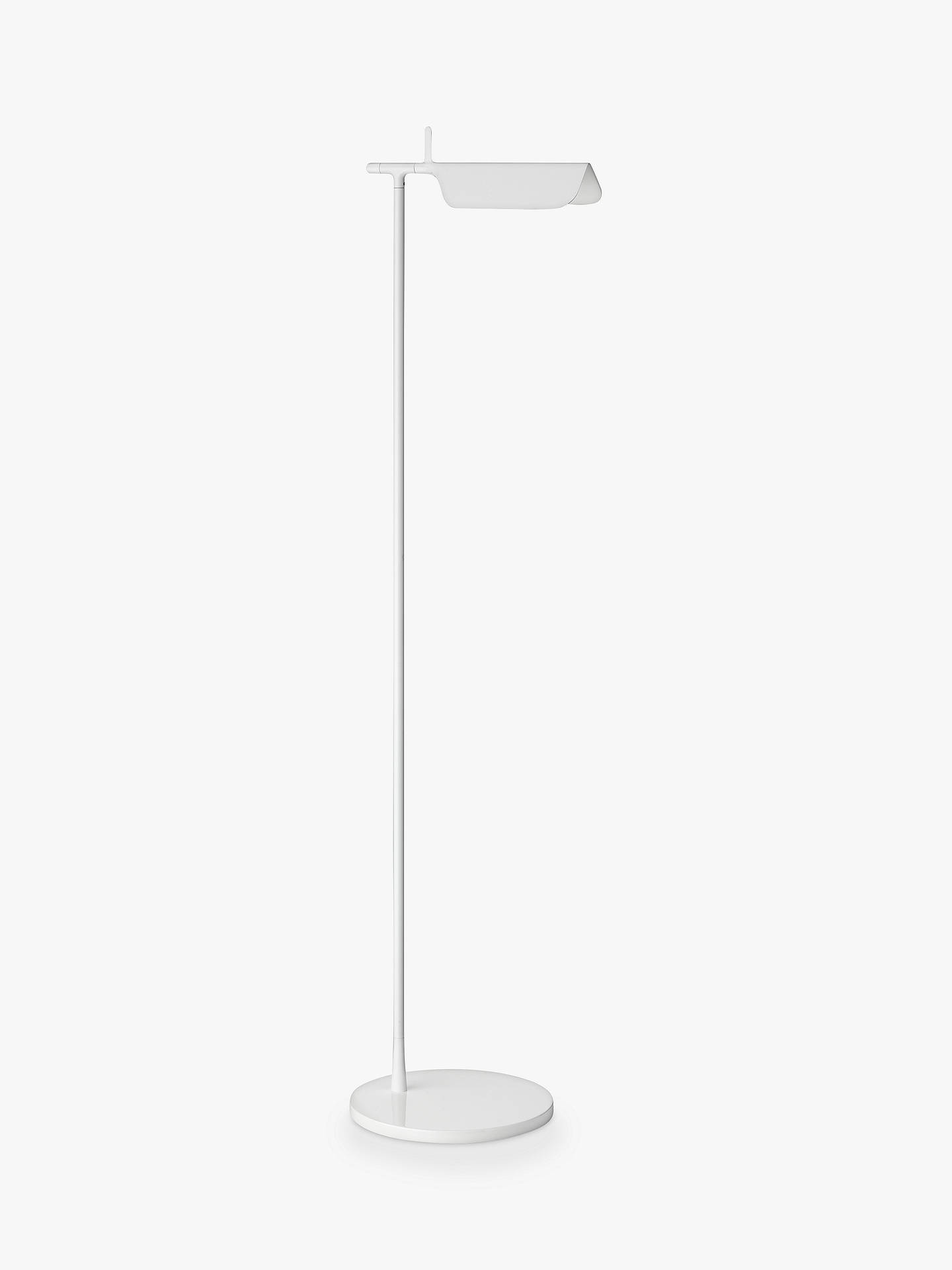 BuyFlos Tab LED Floor Lamp, White Online at johnlewis.com