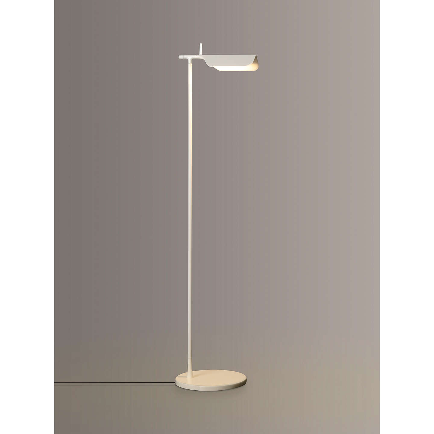 Flos Tab LED Floor Lamp | White at John Lewis for Flos Tab Table Lamp  157uhy