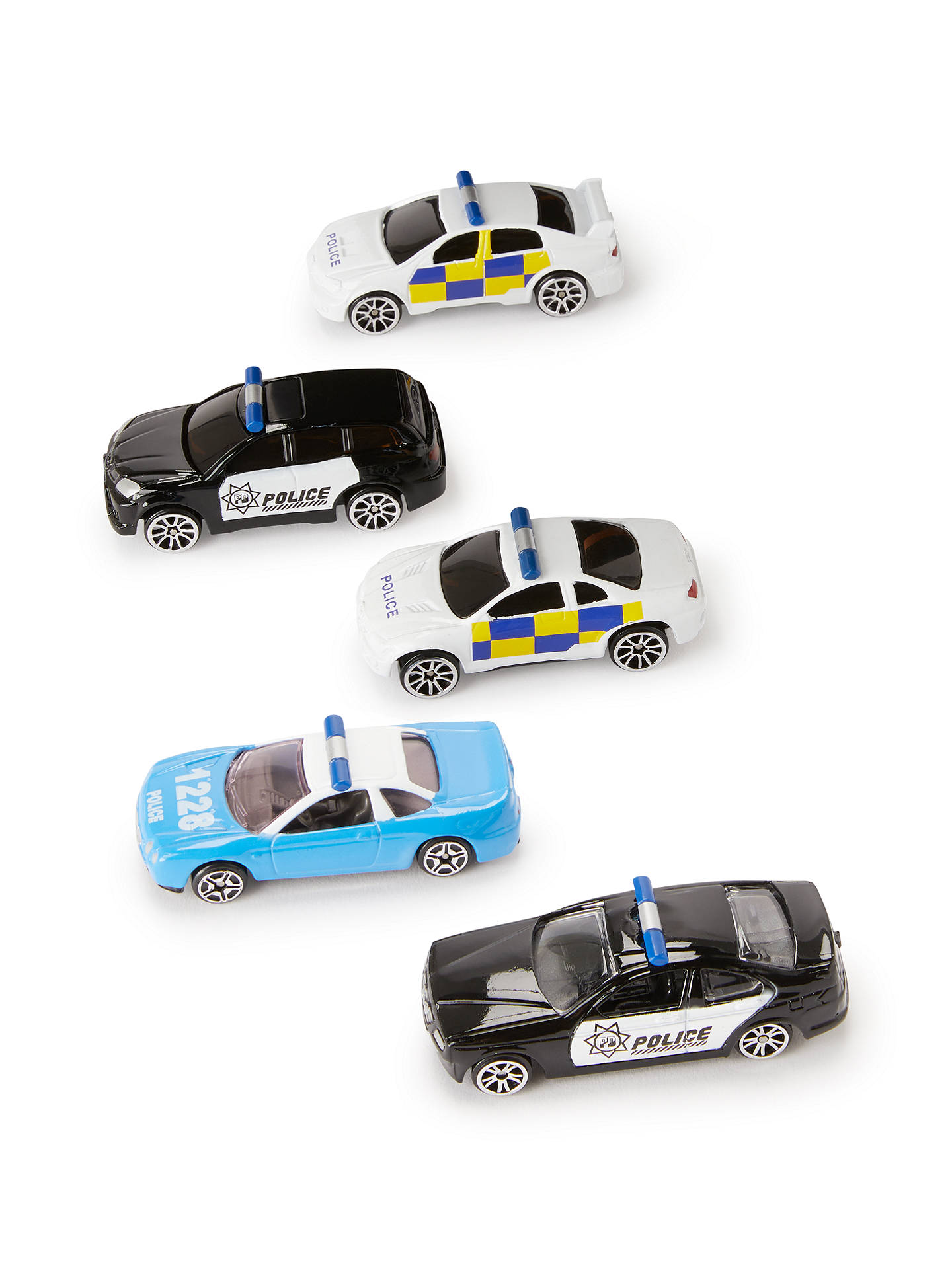 BuyJohn Lewis & Partners Police Vehicles, Pack of 5 Online at johnlewis.com