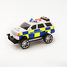 Buy John Lewis Small Police Car Online at johnlewis.com