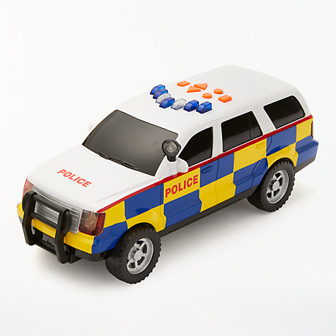 Buy John Lewis Large Police Car Online at johnlewis.com