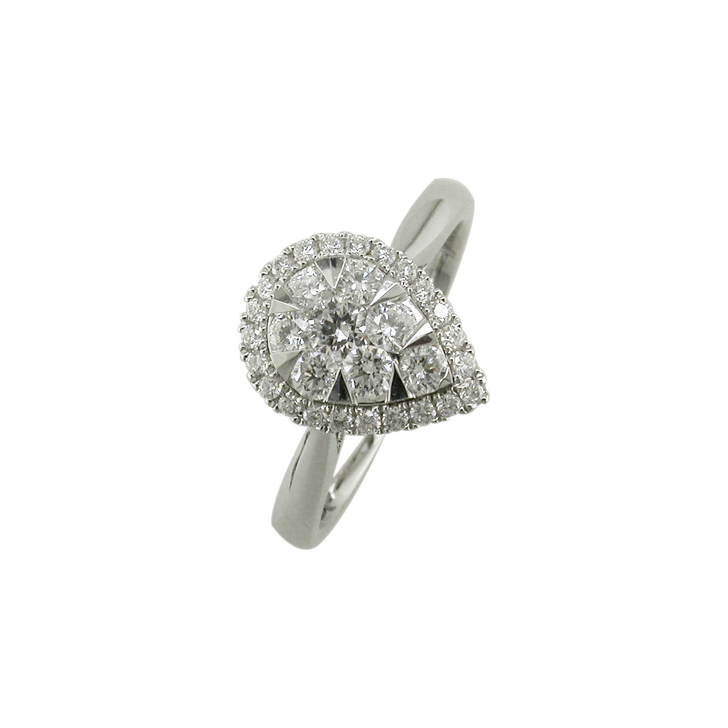 square diamond ring by round engagement rounded rings two halo london