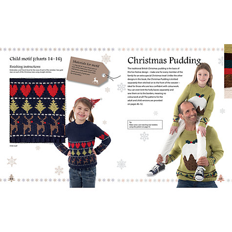 Buy Merry Christmas Sweaters to Knit by Sue Stratford Knitting Book Online at johnlewis.com