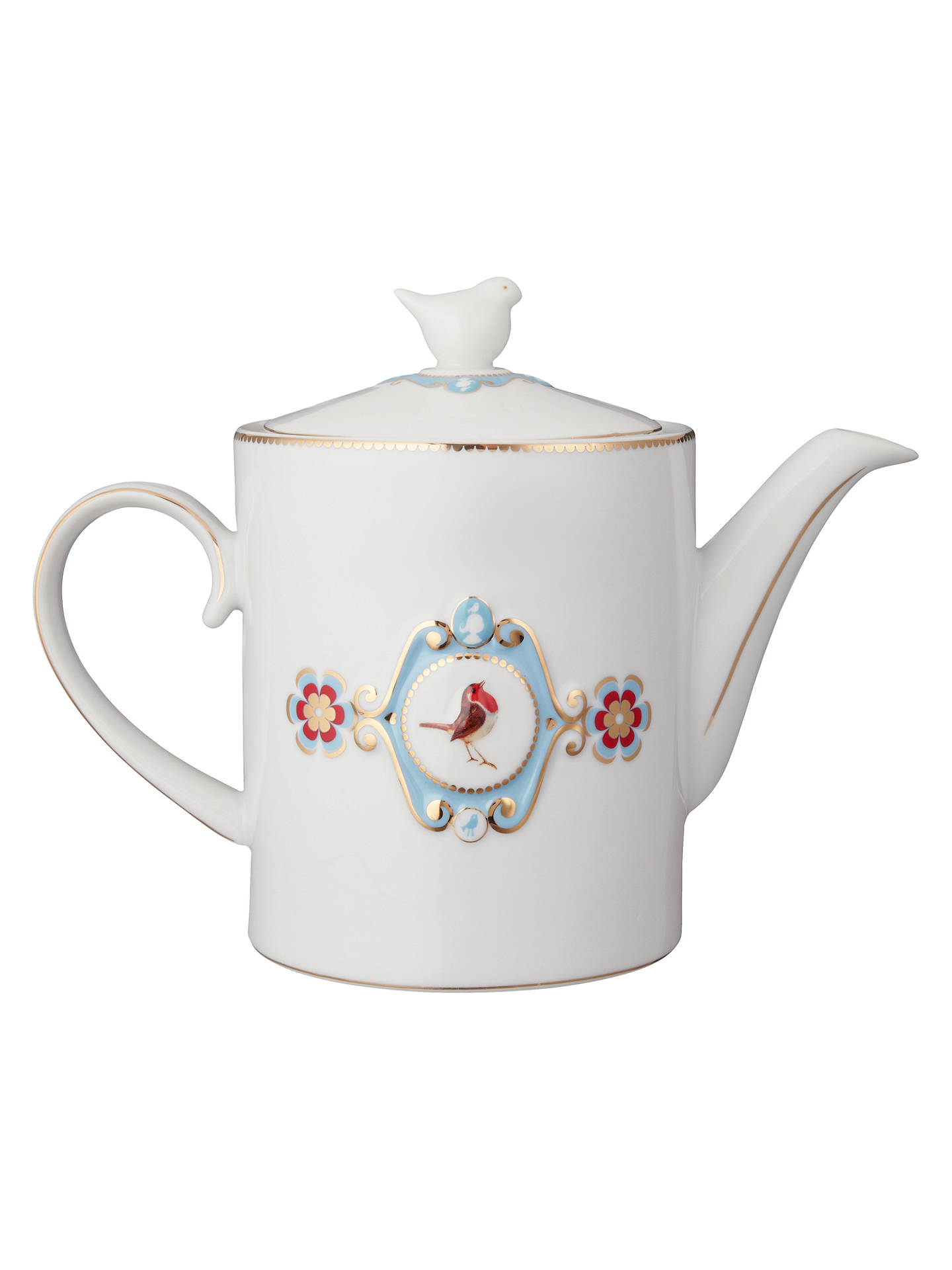 Pip Studio Love Birds Teapot 1 25l