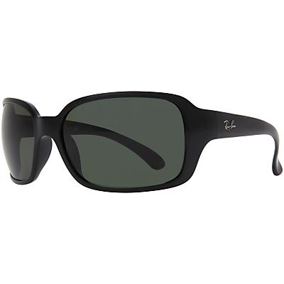 Product photo of Rayban rb4068 rectangular sunglasses black