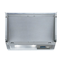 Buy Bosch DHE645MGB Integrated Extractor Hood, Silver/Grey Online at johnlewis.com