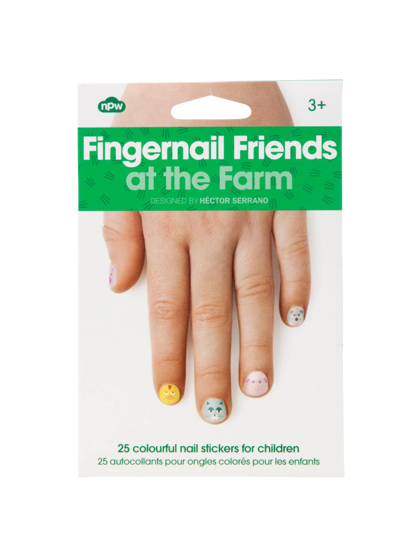 Farm Fingernail Stickers, Multi at John Lewis & Partners