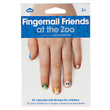 Buy Zoo Nail Art Stickers, Multi Online at johnlewis.com