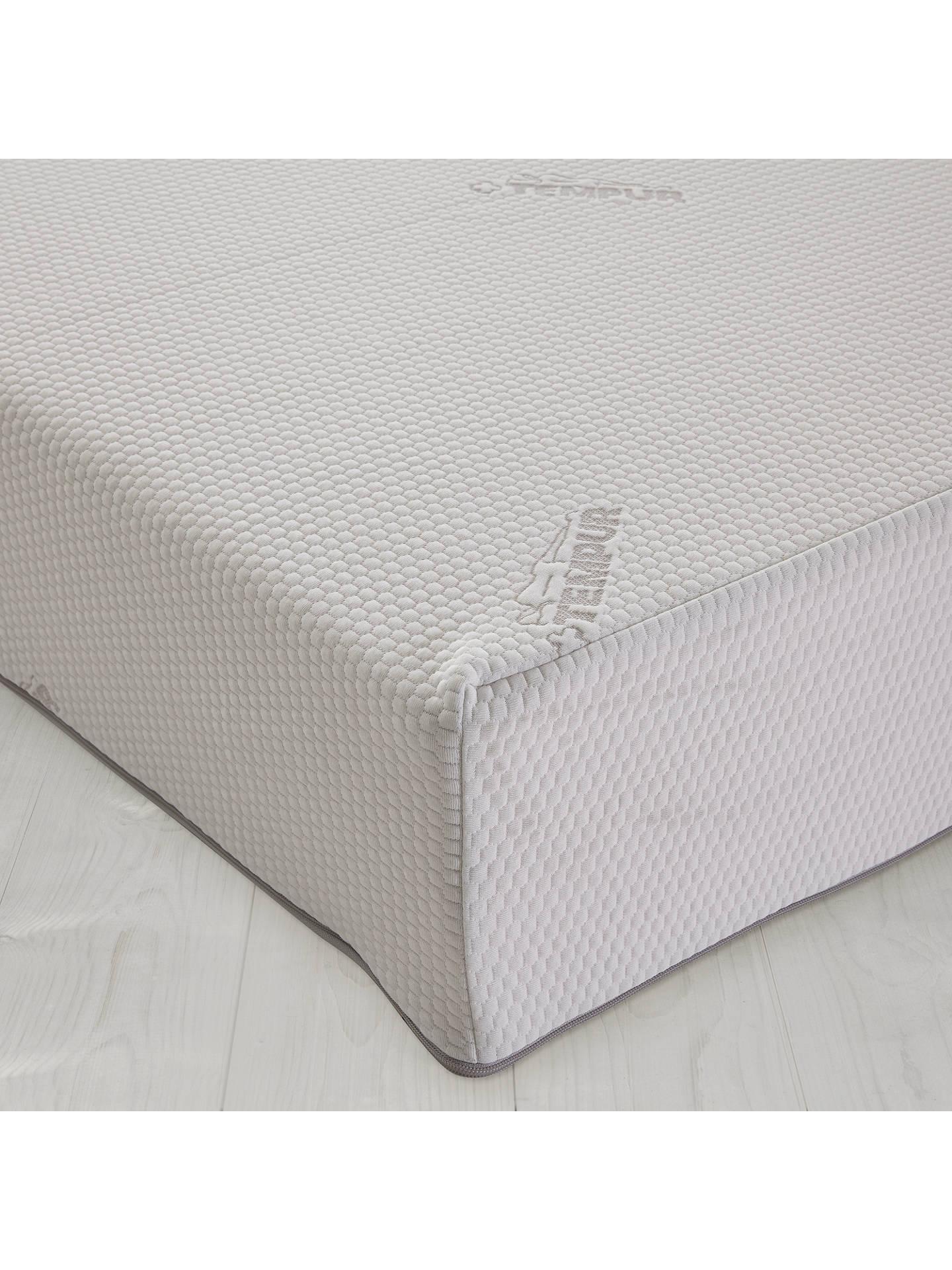 tempur sensation 21 memory foam mattress medium king. Black Bedroom Furniture Sets. Home Design Ideas