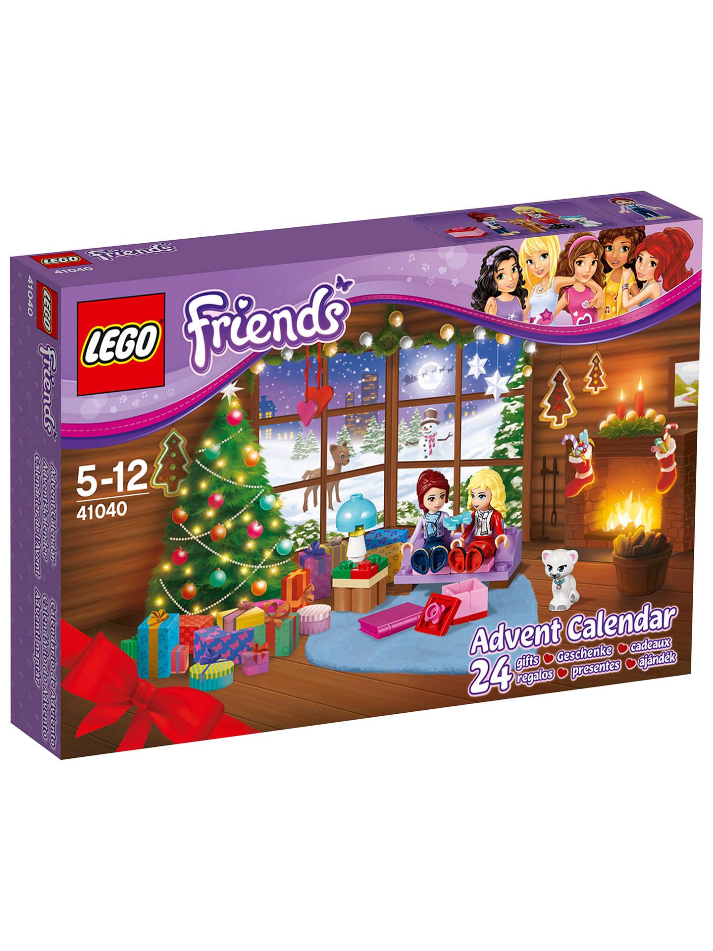 LEGO Friends Christmas Advent Calendar at John Lewis & Partners