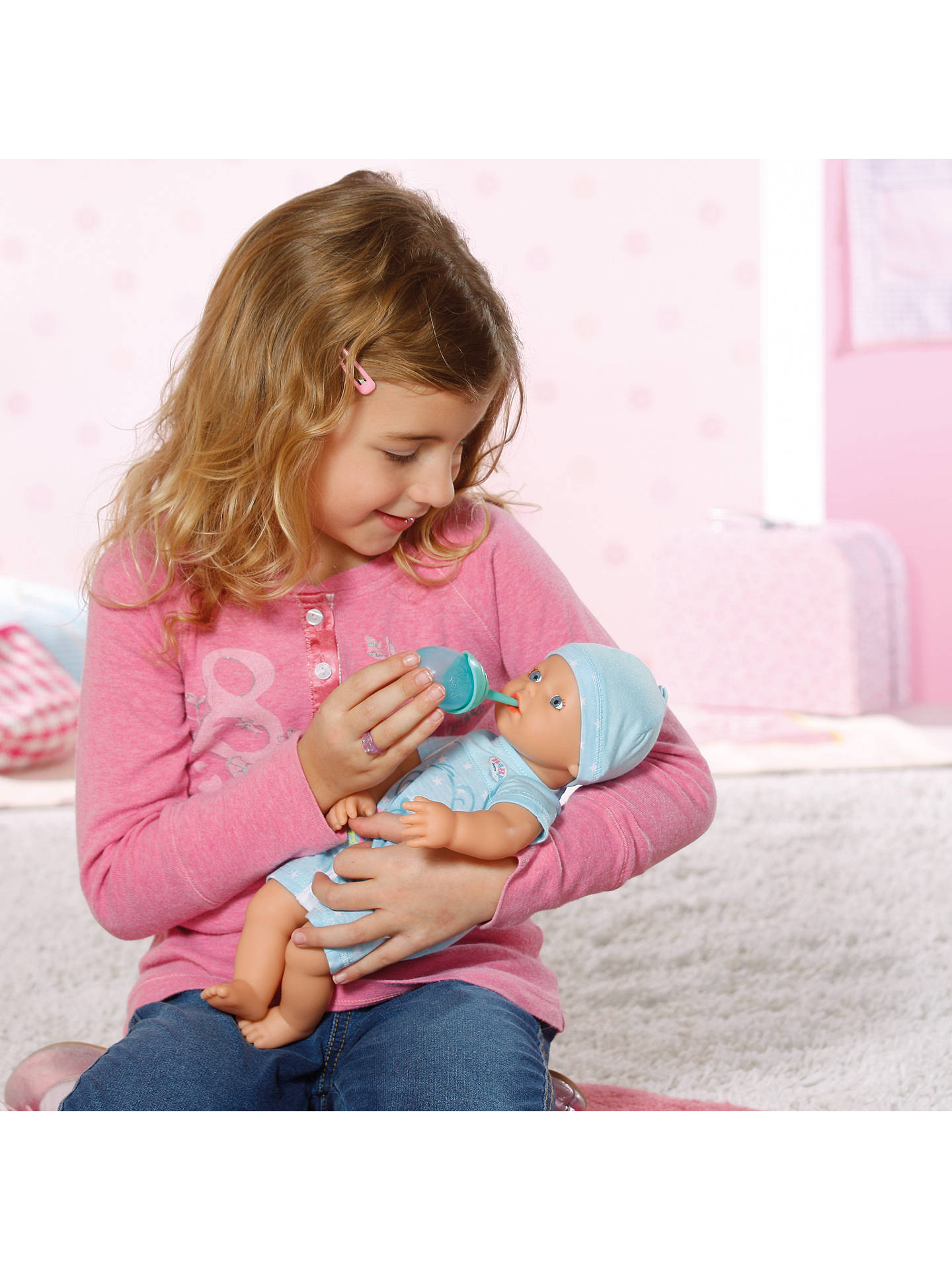 Zapf Baby Born My Little Boy Doll At John Lewis Amp Partners