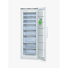 Buy Bosch GSN58AW30G Tall Freezer, A++ Energy Rating, 70cm Wide, White Online at johnlewis.com