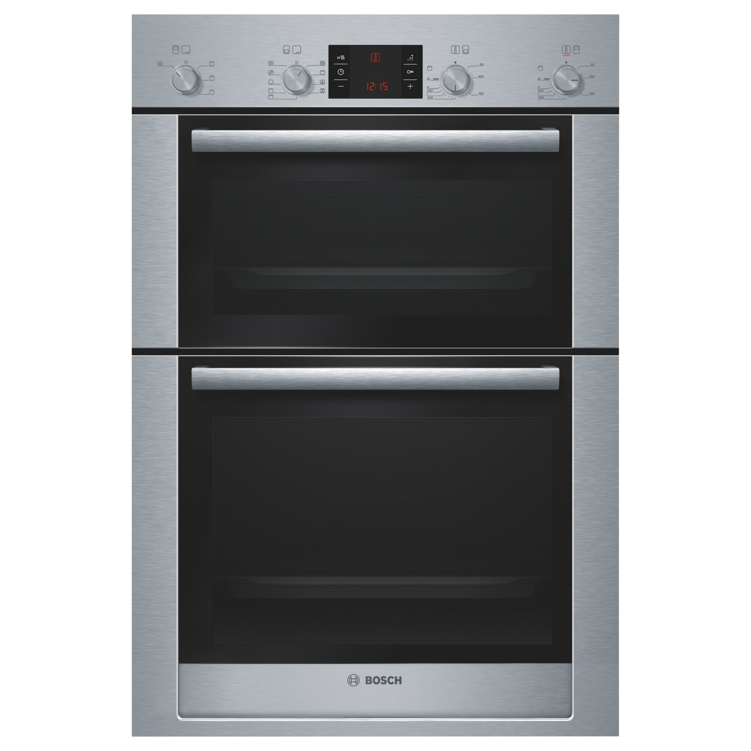 Black oven gloves john lewis - Buy Bosch Exxcel Hbm53r550b Built In Double Electric Oven Stainless Steel Online At Johnlewis