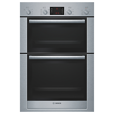 Image of Bosch Exxcel HBM53R550B Double Electric Oven, Stainless Steel