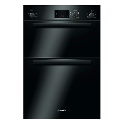 Bosch Classixx HBM13B261B Built-in Electric Double Oven, Black
