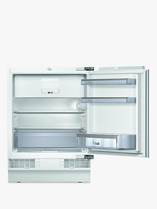 Bosch KUL15A60GB Integrated Undercounter Fridge with Freezer Compartment, A++ Energy Rated, 60cm Wide, White