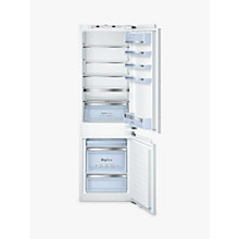 Buy Bosch Classixx KIS86AF30G Integrated Fridge Freezer, A++ Energy Rating, 56cm Wide, White Online at johnlewis.com