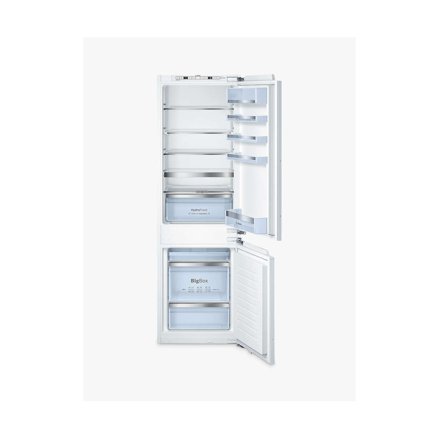 Buybosch Excell Kisafg Integrated Fridge Freezer A Energy Rating Cm Wide White Online