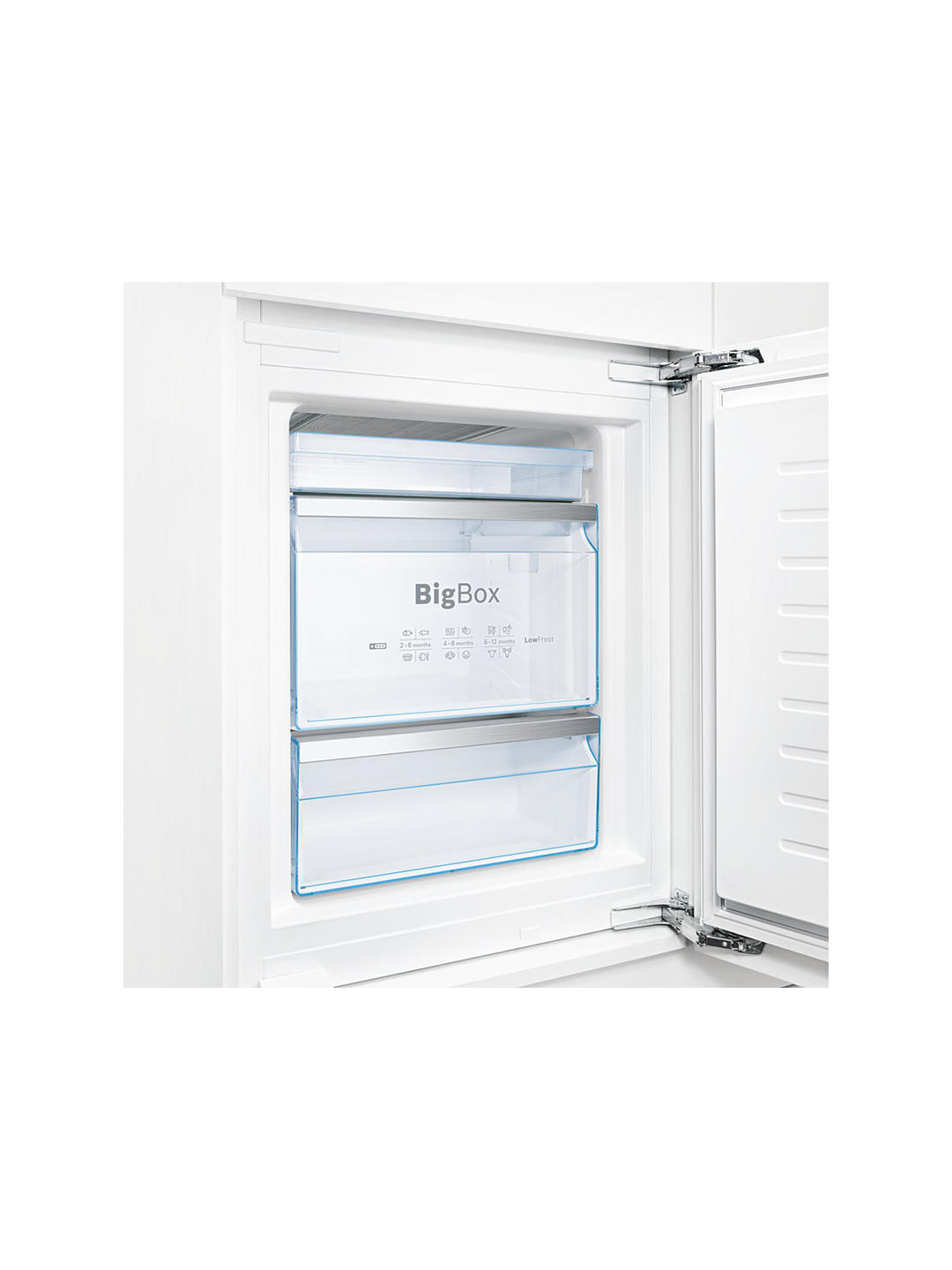 Buy Bosch Classixx KIS86AF30G Integrated 60/40 Fridge Freezer, Fixed Door Hinge, A++ Energy Rating, 56cm Wide, White Online at johnlewis.com