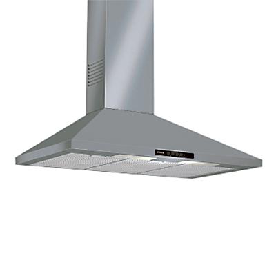 Image of Bosch DWW09W450B Chimney Cooker Hood, Brushed Steel