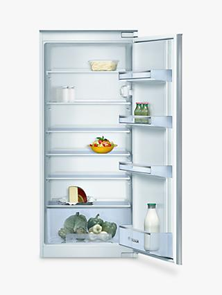 Bosch Classixx KIR24V20GB Integrated Larder Fridge, A+ Energy Rated, 55cm Wide, White