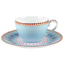 Buy PiP Studio Ribbon Rose Espresso Cup & Saucer Set Online at johnlewis.com