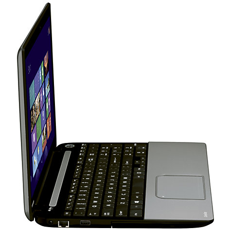 "Buy Toshiba Satellite L50t-13E Laptop, Intel Core i3, 8GB RAM, 1TB, 15.6"" Touch Screen, Silver Online at johnlewis.com"