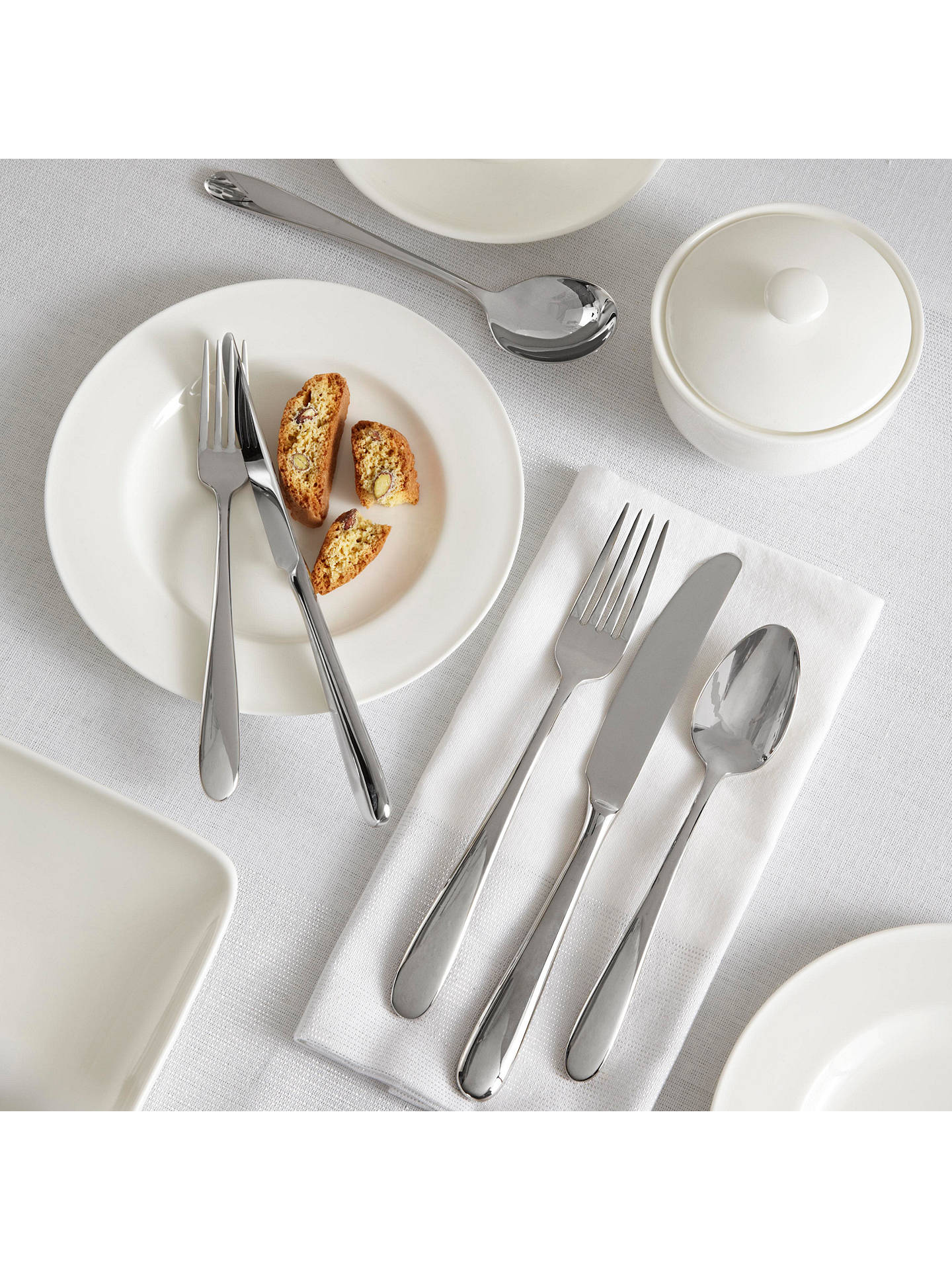 Buy John Lewis & Partners Dome Dessert Knife Online at johnlewis.com