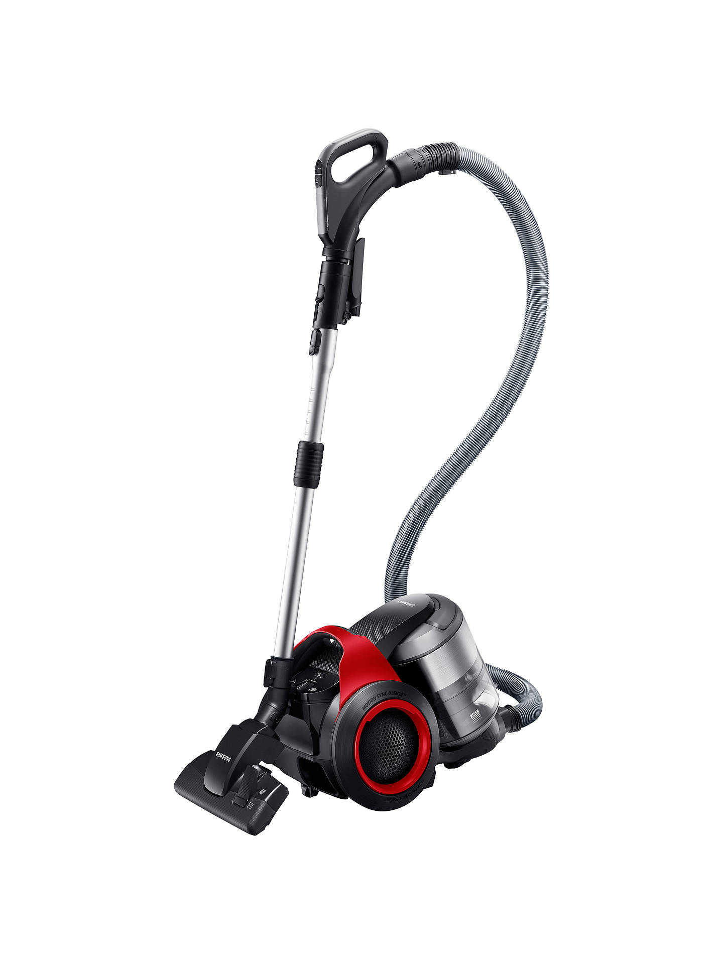 Samsung VC20F70HDER Cylinder Vacuum Cleaner, Vitality Red