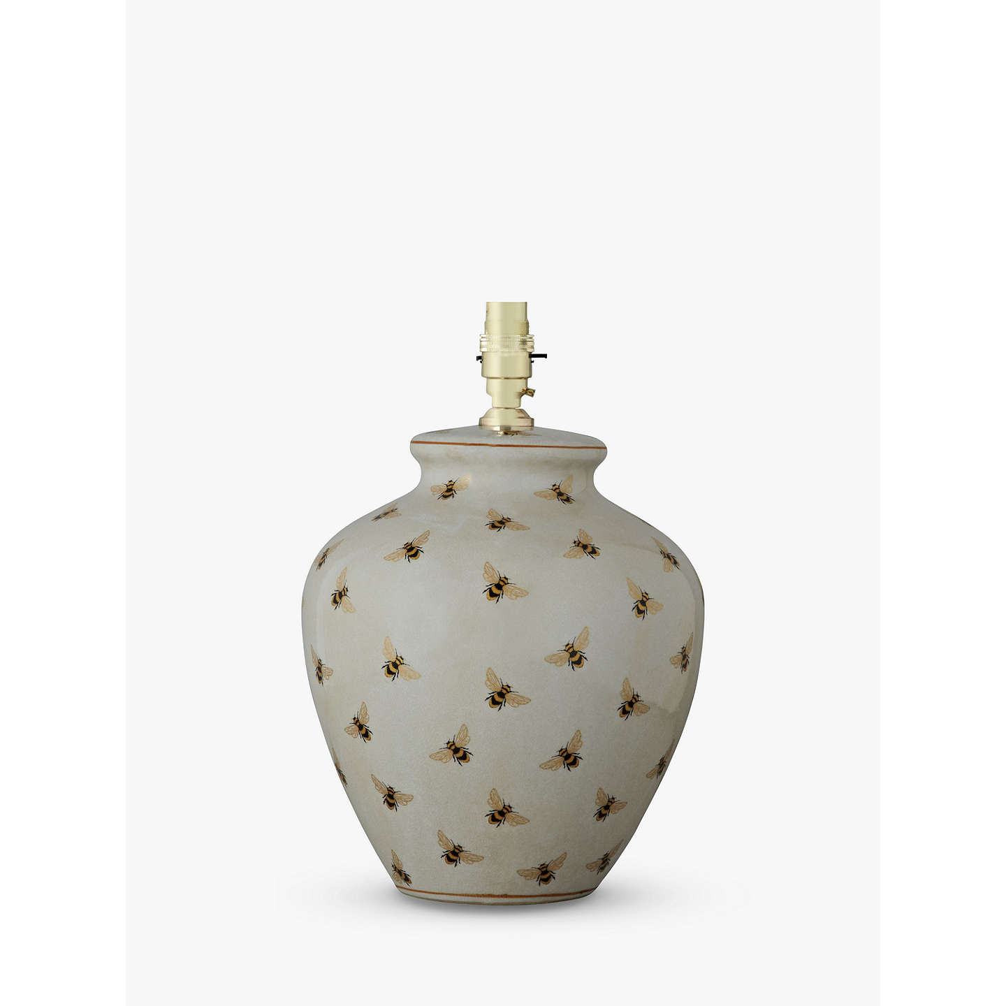 India Jane Bee Pot Lamp Base At John Lewis