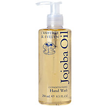 Buy Crabtree & Evelyn Jojoba Conditioning Hand Wash, 250ml Online at johnlewis.com