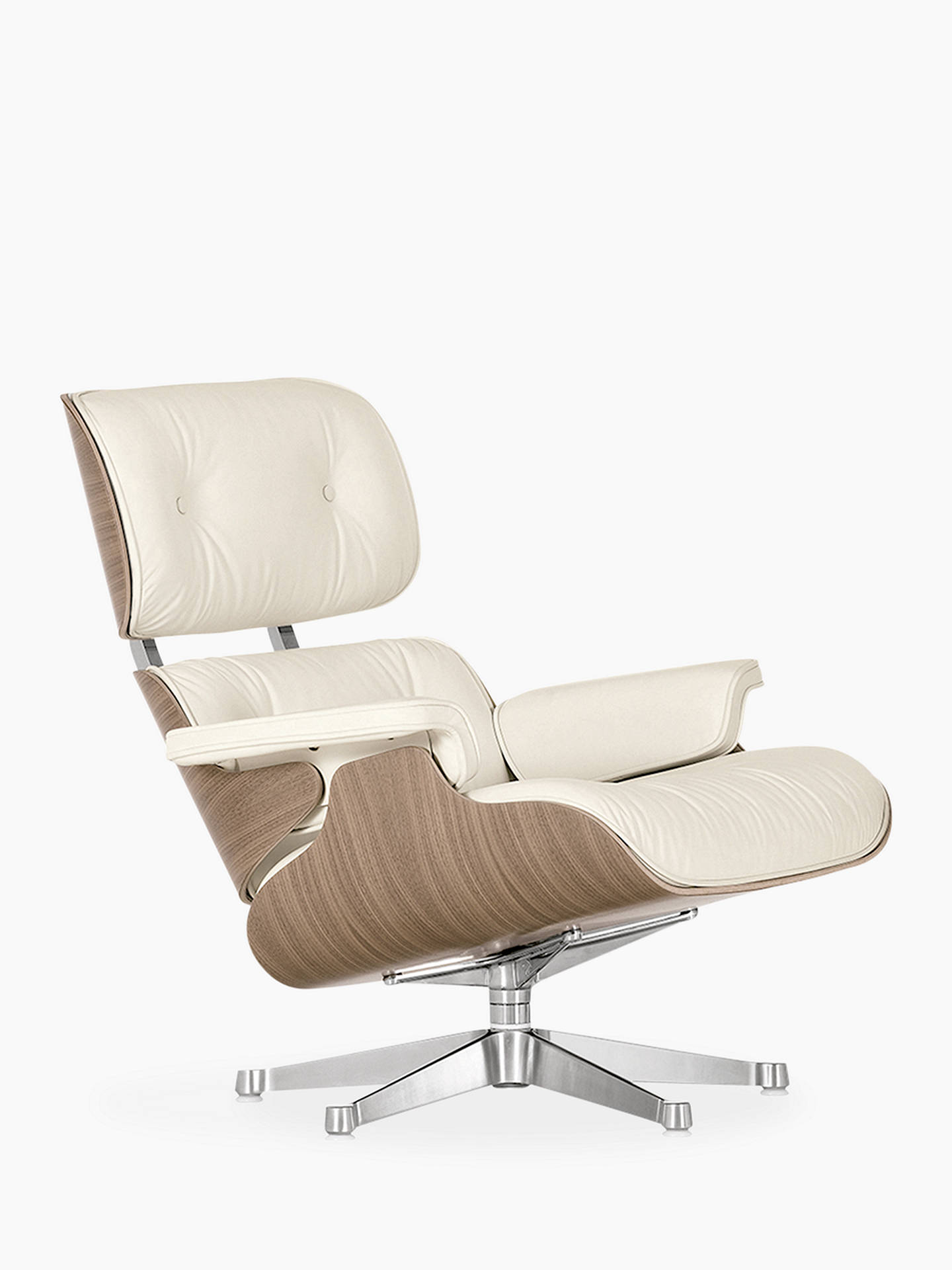 Miraculous Vitra Eames Lounge Armchair Ottoman White Walnut At John Pdpeps Interior Chair Design Pdpepsorg