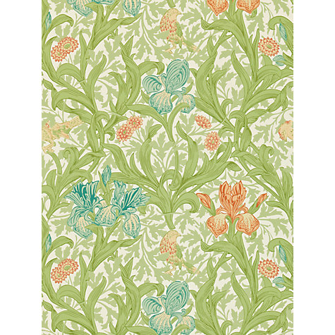 Buy Morris & Co Iris Wallpaper Online at johnlewis.com