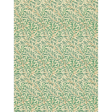 Buy Morris & Co Willow Bough Minor Wallpaper Online at johnlewis.com