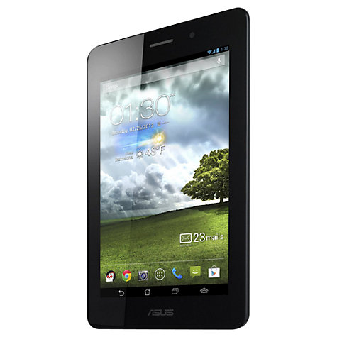 "Buy Asus Fonepad Tablet/Smartphone, Intel Atom, Android, 7"", Wi-Fi & 3G, 16GB, Titanium Gray Online at johnlewis.com"