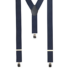Buy John Lewis Diamond Braces, One Size, Navy Online at johnlewis.com