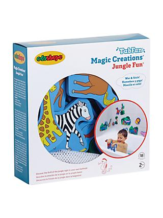 Magic Creation Jungle Fun Bath Shapes