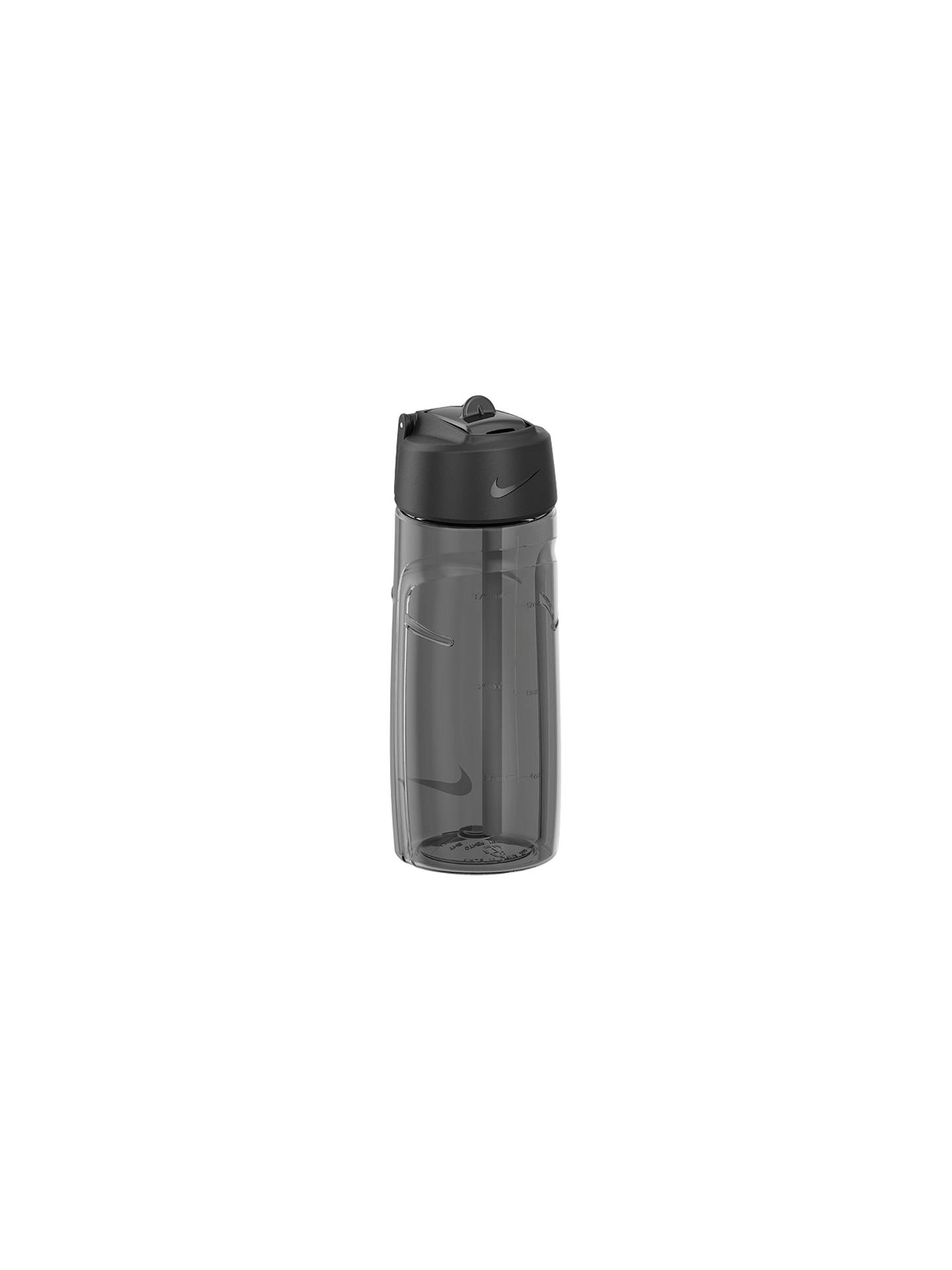 BuyNike T1 Flow Water Bottle, 473ml, Grey/Black Online at johnlewis.com