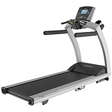 Buy Life Fitness T5 Treadmill, Go Console Online at johnlewis.com