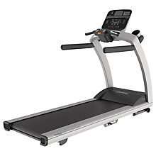 Buy Life Fitness T5 Treadmill, Track Connect Console, Silver Online at johnlewis.com