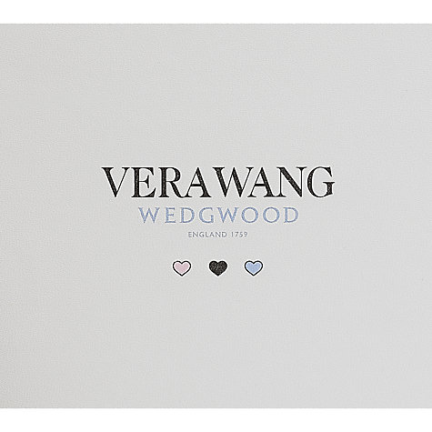 "Buy Vera Wang for Wedgwood Infinity Baby Photo Frame, 4 x 6"" (10 x 15cm) Online at johnlewis.com"